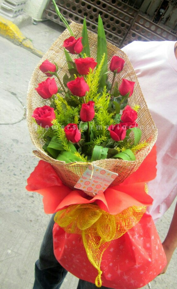 Flowers bouquet delivery in Muntinlupa