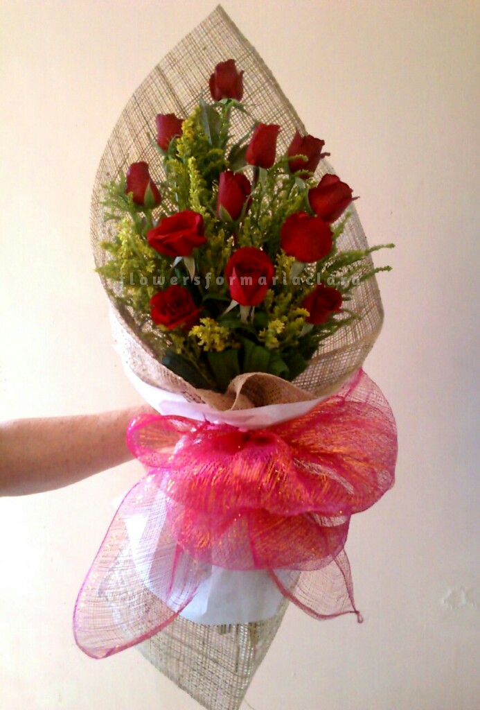 Item 166 | Flowers bouquet delivery in Paranaque