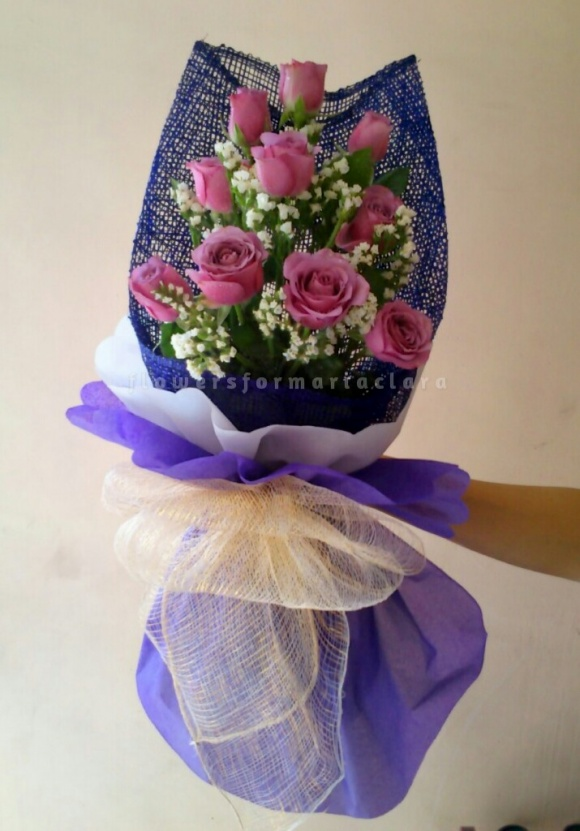 Flowers bouquet delivery in Marikina