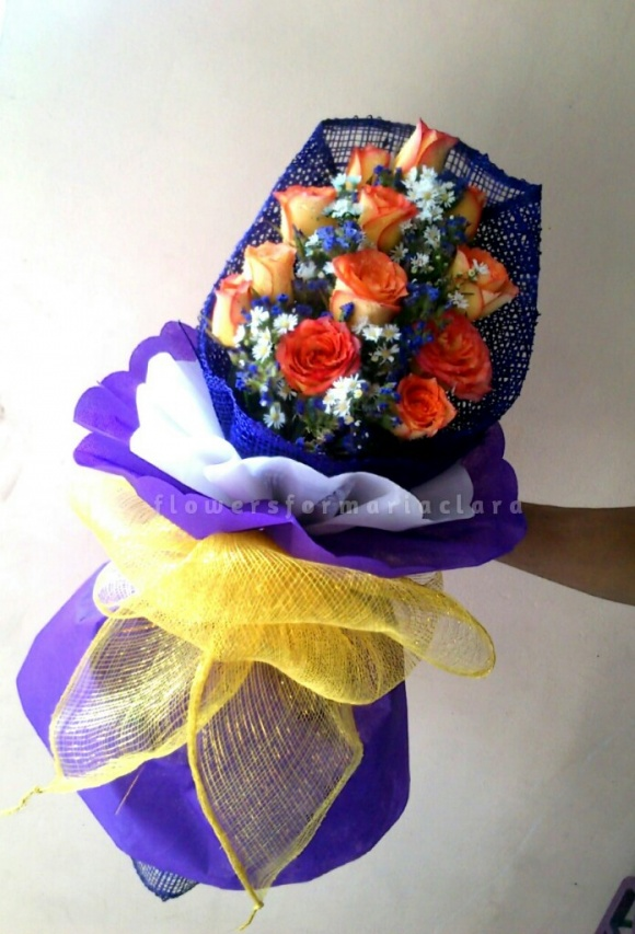 Flowers bouquet delivery in Quezon City