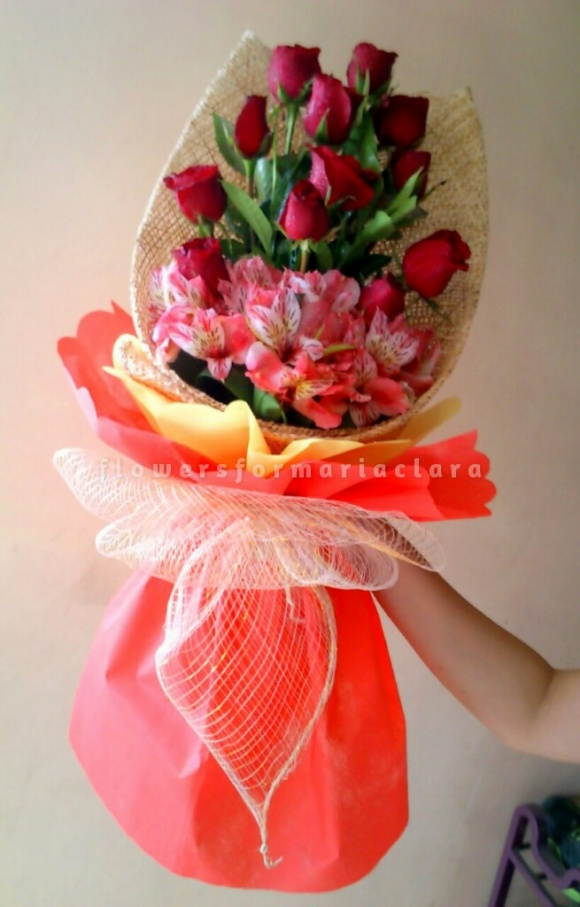Flowers bouquet delivery in Pasig