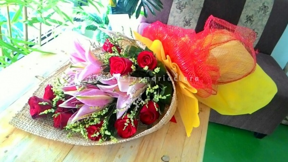 Flowers bouquet delivery in Mandaluyong
