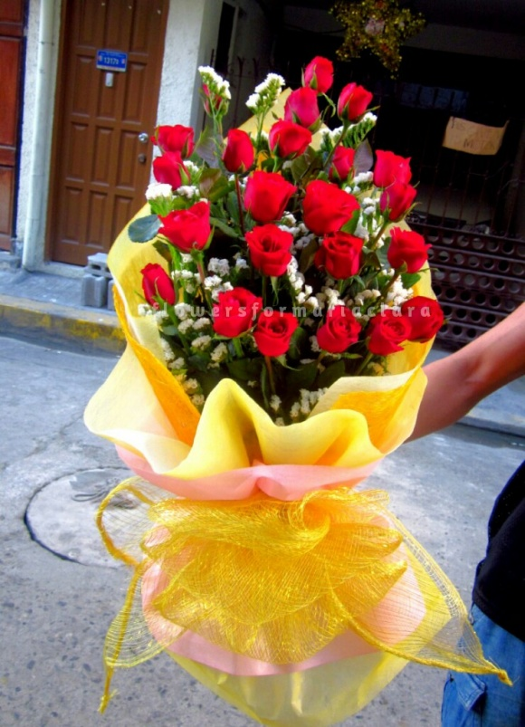 Flowers bouquet delivery in Malabon