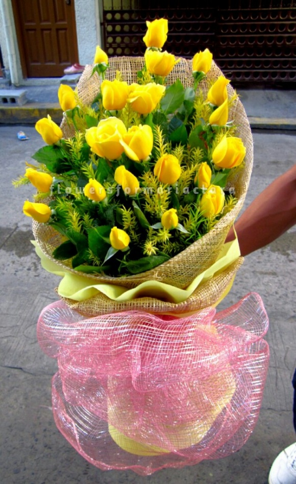Flowers bouquet delivery in Makati