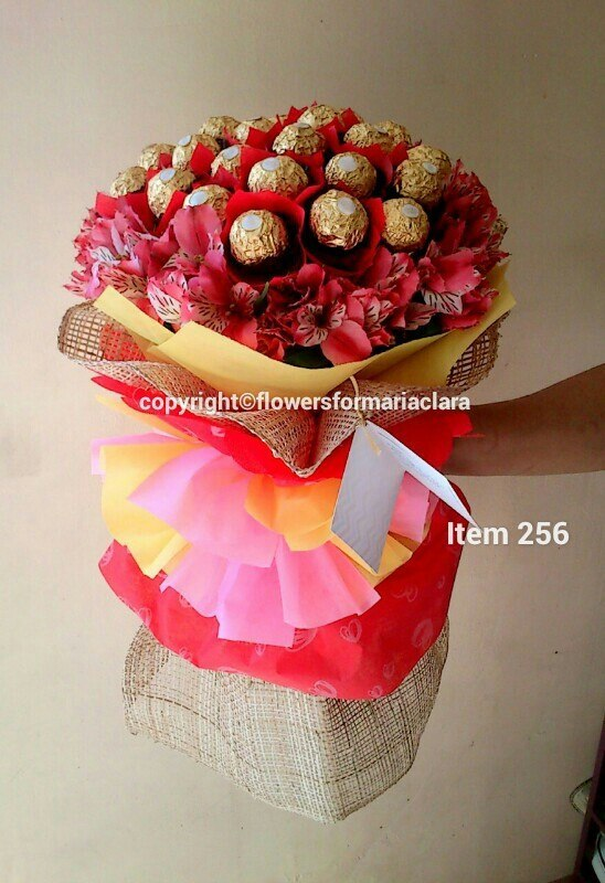 ferrero flower bouquet