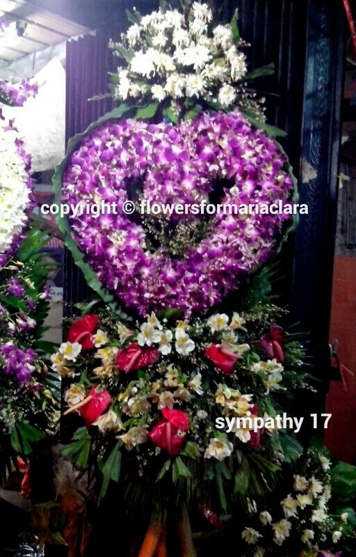 sympathy flowers delivery in pasig