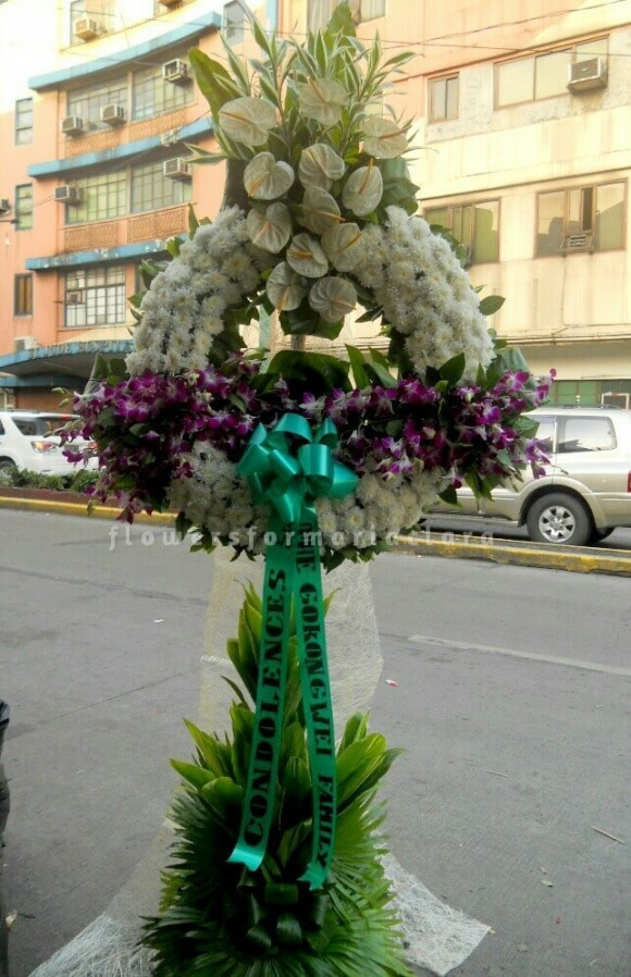 sympathy flowers delivery in novaliches