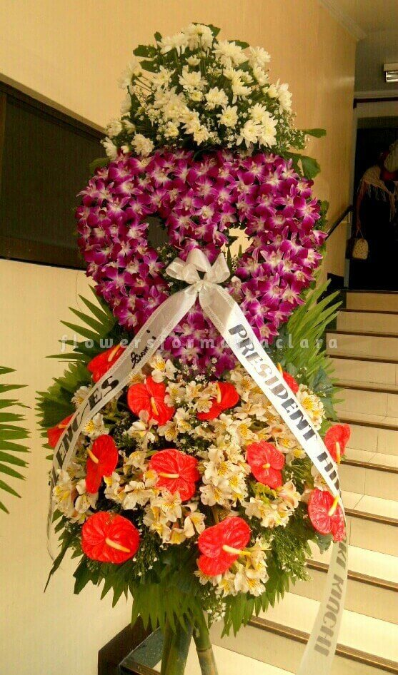 sympathy flowers delivery in valenzuela