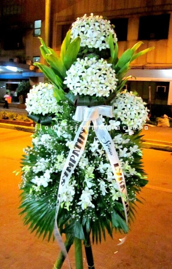sympathy flowers delivery in cavite,