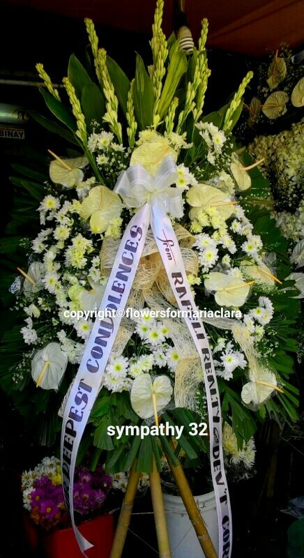 sympathy flowers delivery in marikina