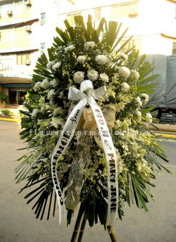 sympathy flowers delivery in taguig