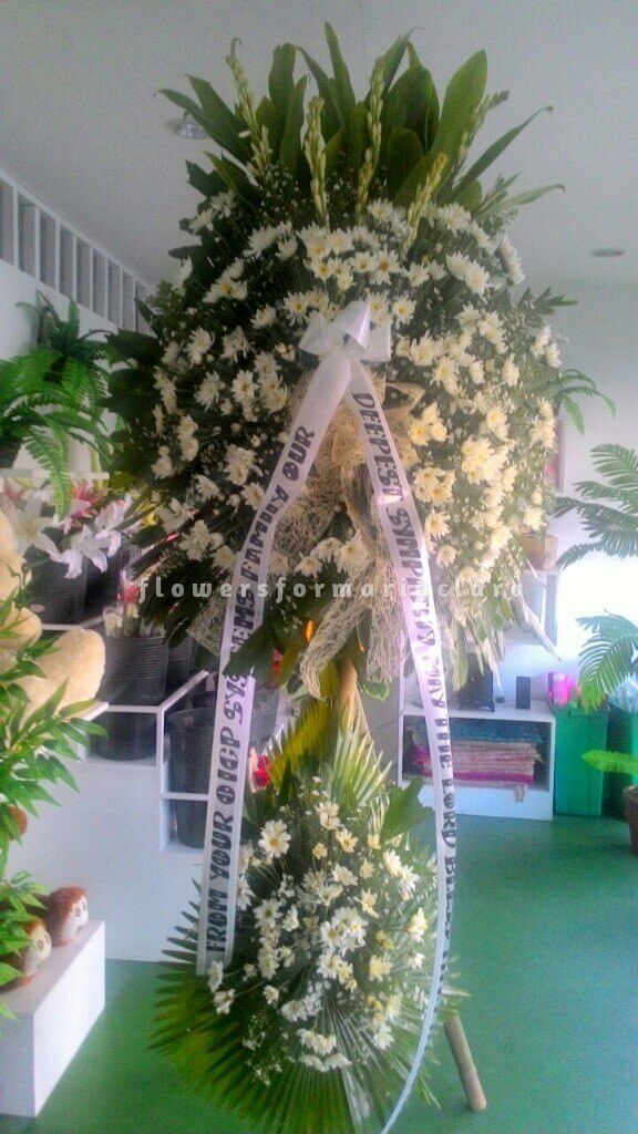 sympathy flowers delivery in quezon city