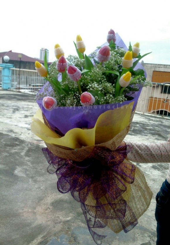 Flowers bouquet delivery in Metro Manila